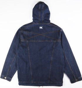 Ethik, Denim Anorak, Dark Stone Washed