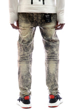 Load image into Gallery viewer, KLEEP Kleep premium skinny heavy washed stretchable cotton denim pants. kp-2150-covert.