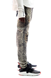 KLEEP Kleep premium skinny heavy washed stretchable cotton denim pants. kp-2150-covert.