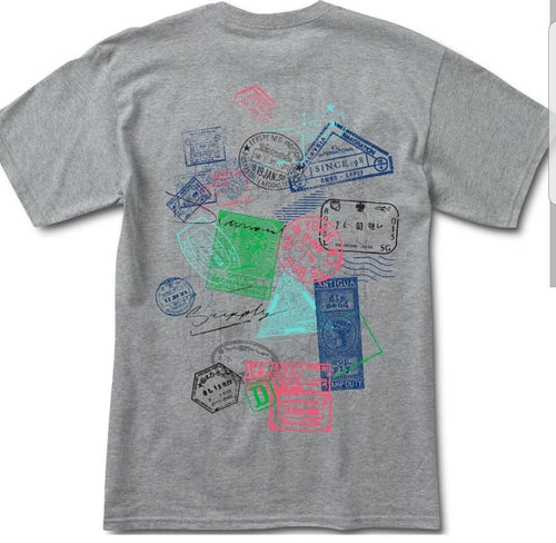 Diamond Supply Passport Tee