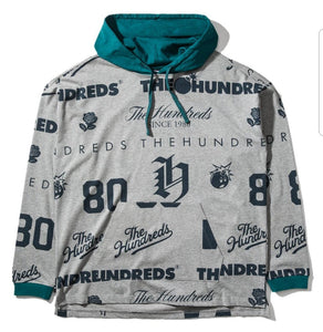 The Hundreds Swap Longsleeve Hooded Knit