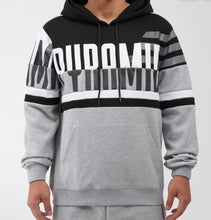 Load image into Gallery viewer, Black Pyramid Oversize Stripe Hoody