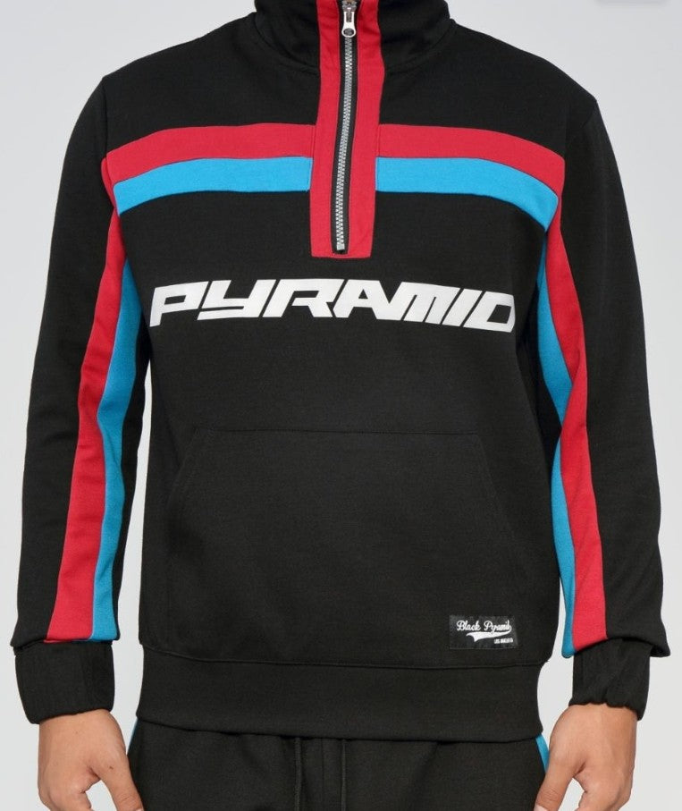 Black Pyramid 2 Striped Track Jacket