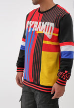 Load image into Gallery viewer, Black Pyramid Collegiate Crew Sweater