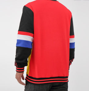 Black Pyramid Collegiate Crew Sweater