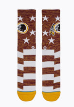 Load image into Gallery viewer, Stance Redskins Banner Socks