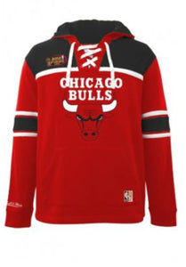 Mitchell & Ness Bulls Hockey Fleece Hoodie