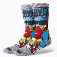Load image into Gallery viewer, Stance Iron Man Comic Socks