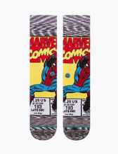Load image into Gallery viewer, Stance Spiderman Comic Socks