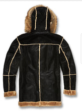 Load image into Gallery viewer, Jordan Craig Denali Shearling Jacket ( Black Coffee)
