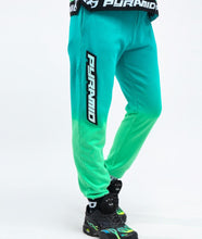Load image into Gallery viewer, Black Pyramid Dip Dye Pastel Pant (Green)