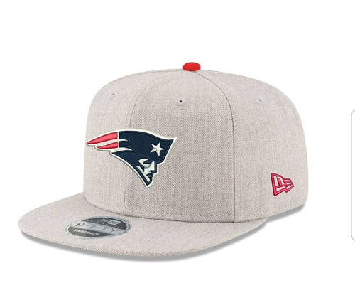 New Era Patriots Heather Hype 950 Snapback