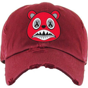 Angry Baws Red Dad Hat