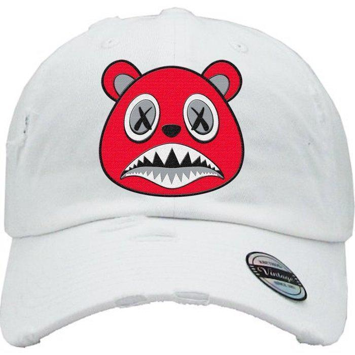 Angry Baws White Dad Hat