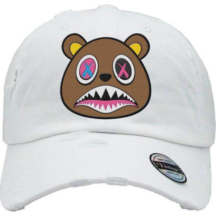 Crazy Baws White Dad Hat