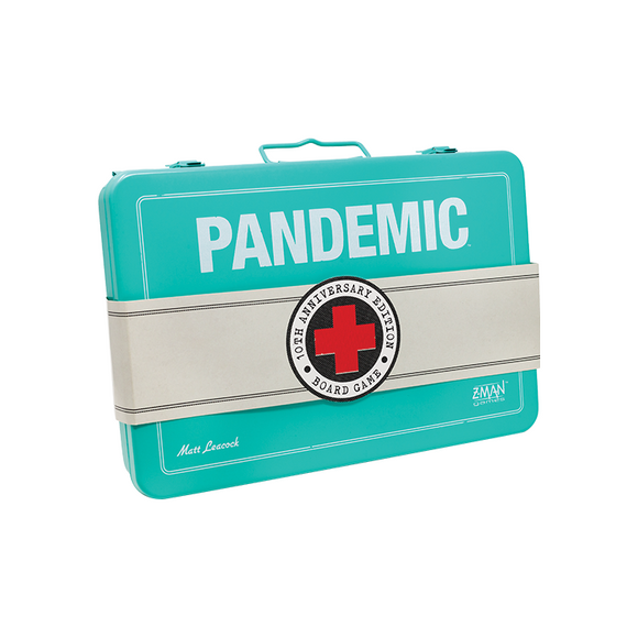 Pandemic 10th Anniversary Edition (2018) Board Game by Z Man Games