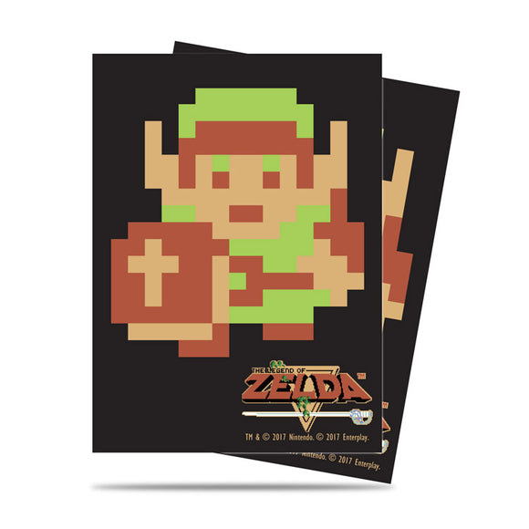 Ultra Pro The Legend of Zelda: 8-Bit Link Deck Protector Sleeves 65ct