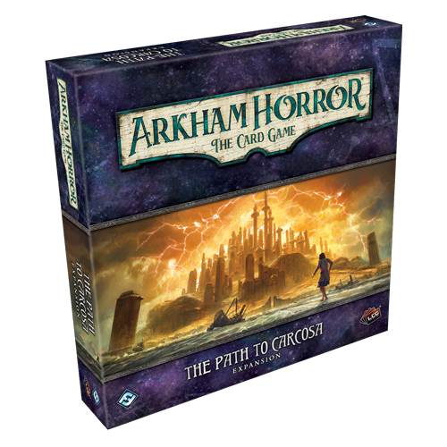 Arkham Horror LCG - Path to Carcosa Deluxe Expansion Card Game