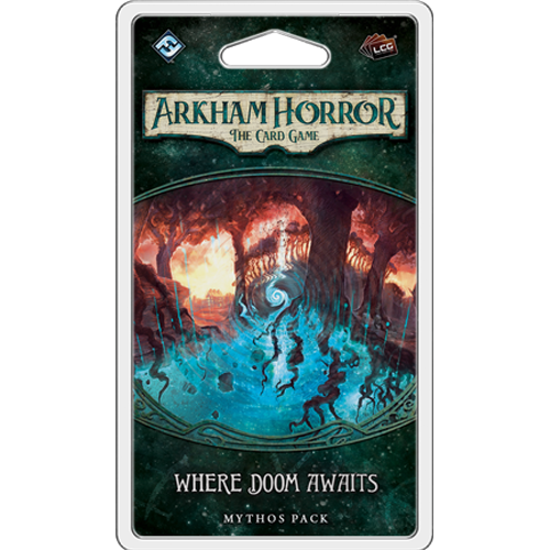 Arkham Horror LCG - Where Doom Awaits Mythos Pack Card Game