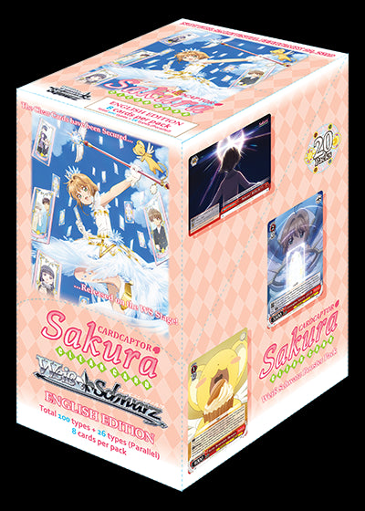Weiss Schwarz - Card Captor Sakura Booster Box (20 Packs) (Pre-Order)