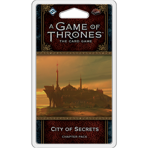 A Game of Thrones LCG - City of Secrets Chapter Pack by FFG