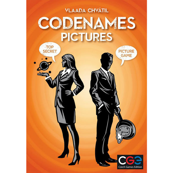 Codenames Pictures Card Game By Czech Games Edition