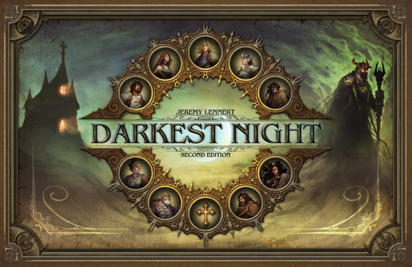 Darkest Night: Second Edition Board Game by Victory Point Games