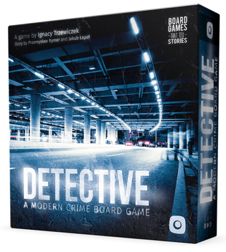 Detective A Modern Crime Board Game by Portal Games