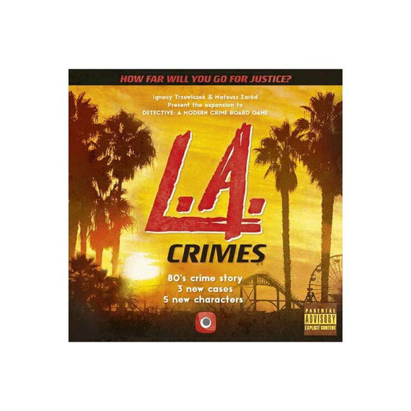 Detective L.A. Crimes Expansion Board Game by Portal Games