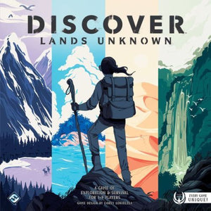 Discover Lands Unknown Board Game By FFG