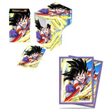 Ultra Pro Dragon Ball Super Explosive Spirit Son Goku Deck Box & Sleeves