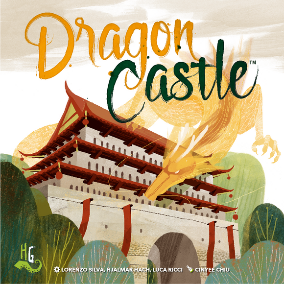 Dragon Castle Board Game by Horrible Games