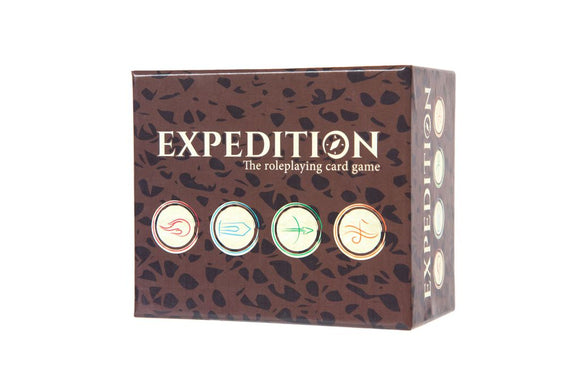 Expedition: The Roleplaying Card Game by Fabricate