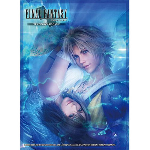 Final Fantasy TCG Card Sleeves DPD - FFX Tidus and Yuna (60)