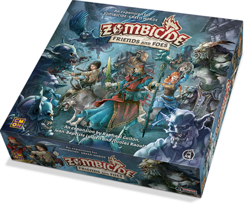 Zombicide Green Horde - Friends and Foes Expansion Board Game by Guillotine Games
