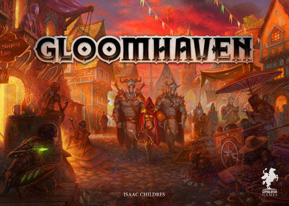 Gloomhaven Board Game (3rd Print) Retail Edition by Cephalofair Games (Pre-order)