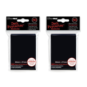 Ultra Pro Gloss Card Sleeves 50x2-Deck Protector Standard Size- Pokemon MTG