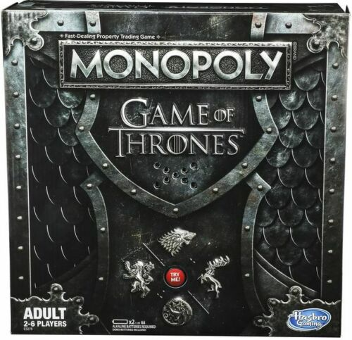 Monopoly Game Of Thrones Board Game by Hasbro
