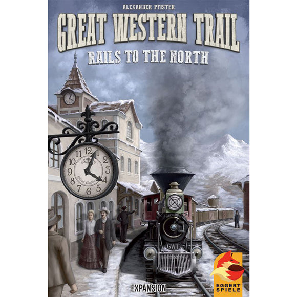 Great Western Trail: Rails To The North Expansion by Eggertspiele