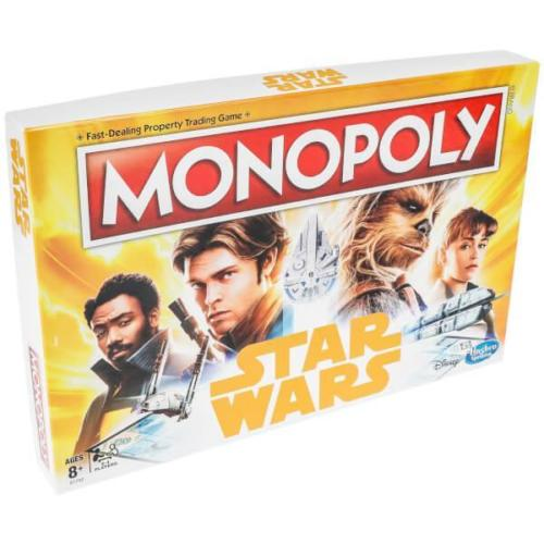 Star Wars Han Solo Monopoly Board Game by Hasbro