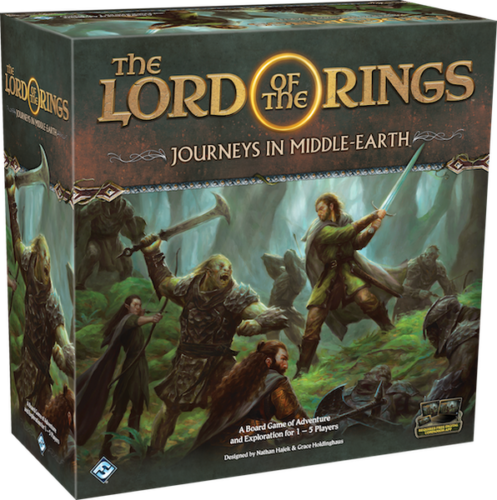 The Lord Of The Rings Journeys In Middle Earth Board Game by FFG