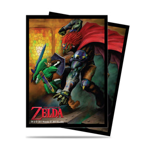 Ultra Pro The Legend of Zelda: Link and Gannon Battle Deck Protector sleeves 65