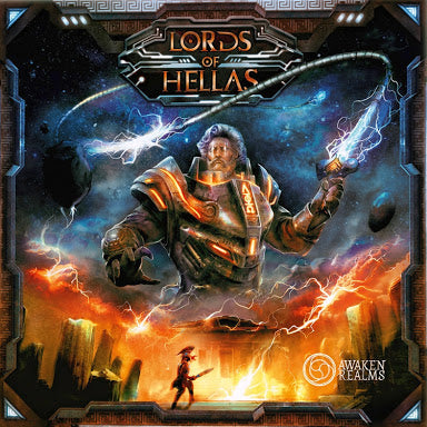 Lords of Hellas Board Game by Awakened Realms