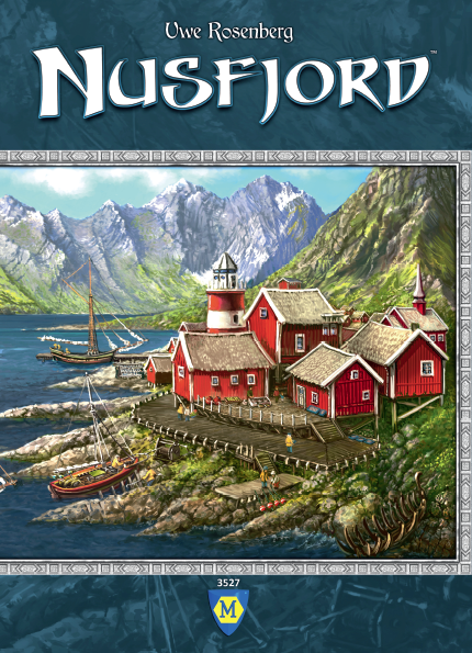 Nusfjord Board Game By Mayfair Games