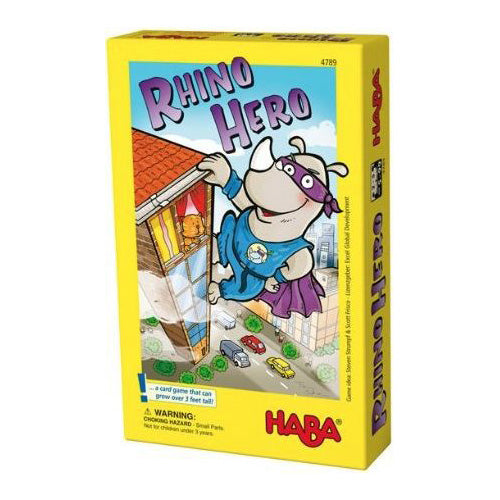 Rhino Hero Card Dexterity Game by Haba