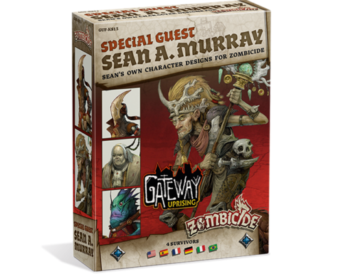 Zombicide Green Horde Special Guest Sean A Murray Expansion by Guillotine Games