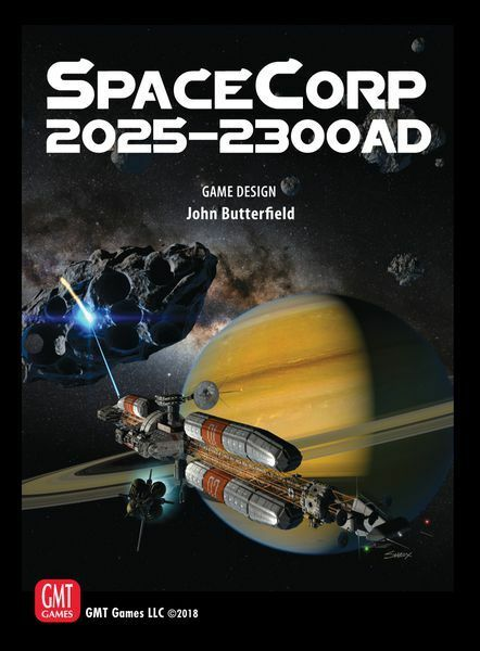 SpaceCorp 2025-2300AD Board Game by GMT