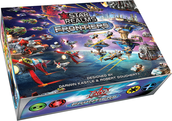 Star Realms Frontier Deck Building Game by WWG