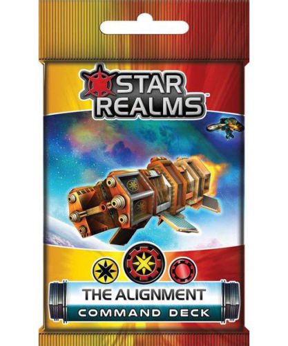 Star Realms Frontier Deck Building Game The Alignment Command Deck by WWG
