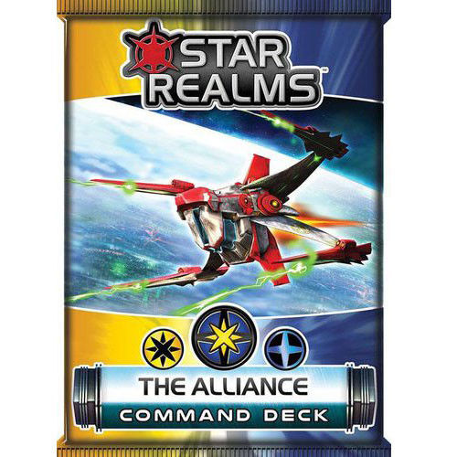 Star Realms Frontier Deck Building Game The Alliance Command Deck by WWG